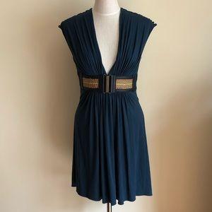 NEW Sky navy belted dress